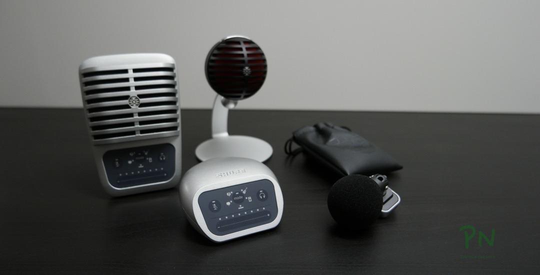 «Shure Motiv»-Serie - einfaches Audio fürs Smartphone oder den Computer«Shure Motiv»-Serie - einfaches Audio fürs Smartphone oder den Computer