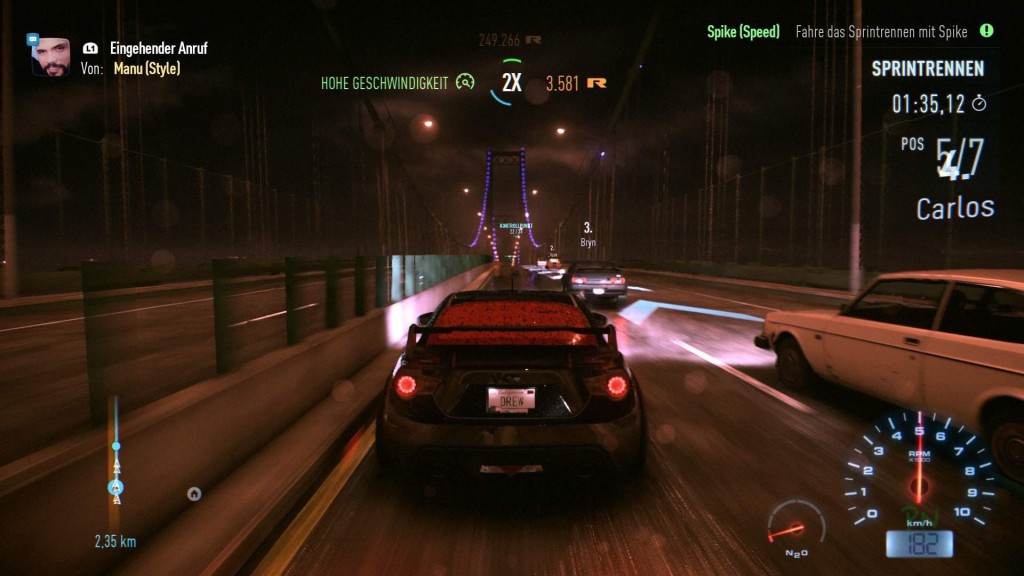 Need for Speed - Rennen