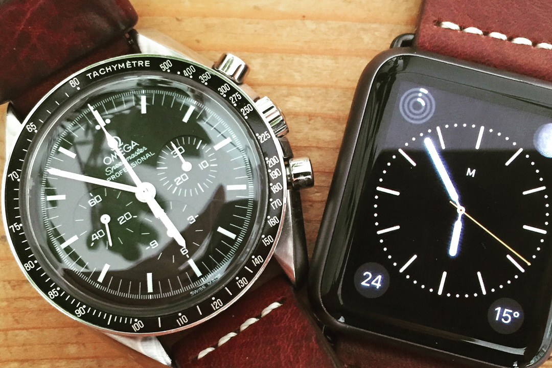 Omega und Apple Watch