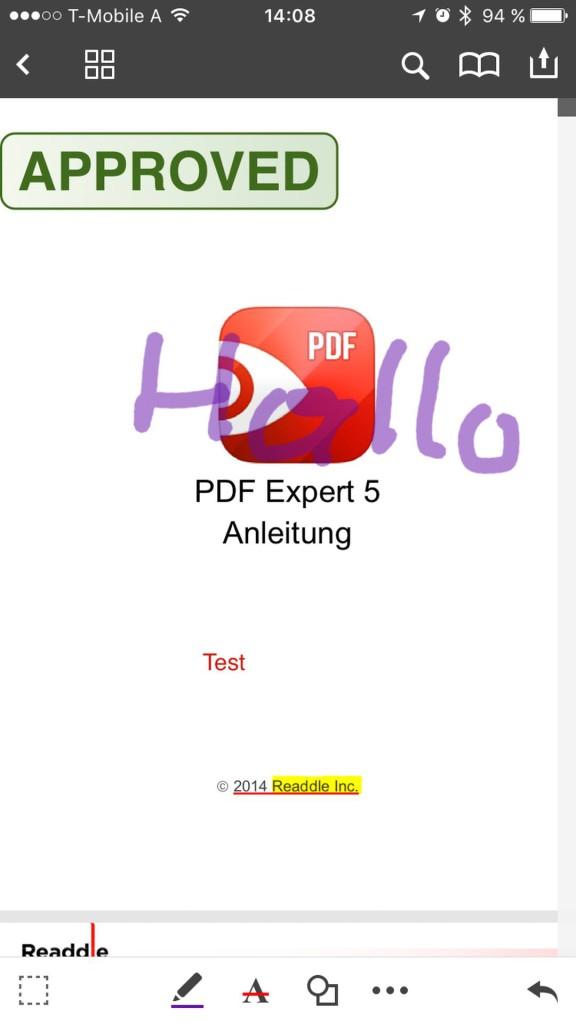 App Tipp - PDF Expert