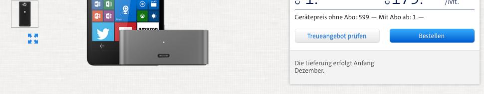 Lumia 950 kauf bei dei der Swisscom