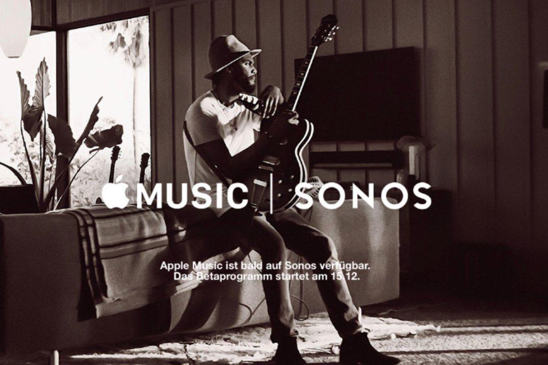 Apple Music & Sonos – Bildquelle: Sonos