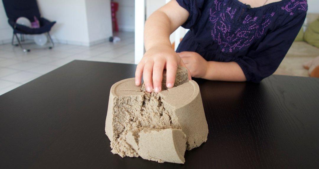 Bubber & Kinetic-Sand – Knete die nicht austrocknet – ein Testbericht
