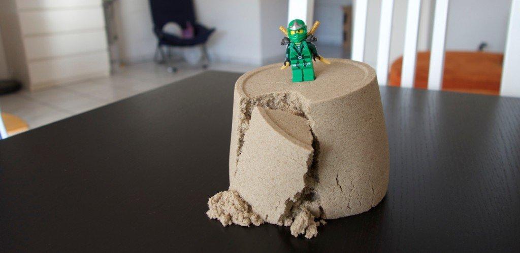 Bubber & Kinetic-Sand – Knete die nicht austrocknet – ein Testbericht 2