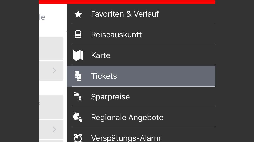 DB Navigator App (iOS)