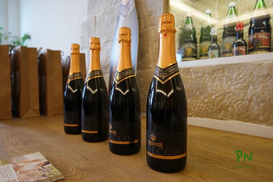 Rimuss Secco - eine alkoholfreie Alternative zum Champagner/Sekt bei Aperos