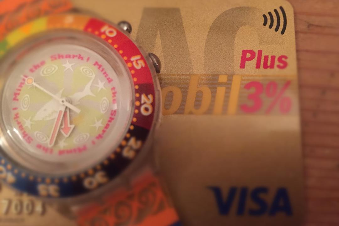 Swatch & NFC von VISA