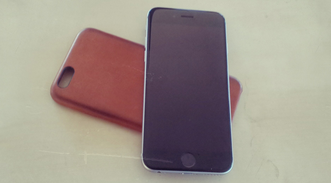 iPhone 6 & Leder Case