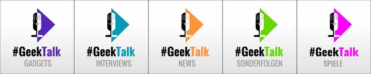 #GeekTalk Podcast - Alle Kapitel Logos