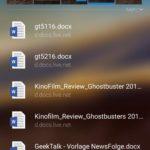 Die Zuletzt verwendeten Apps