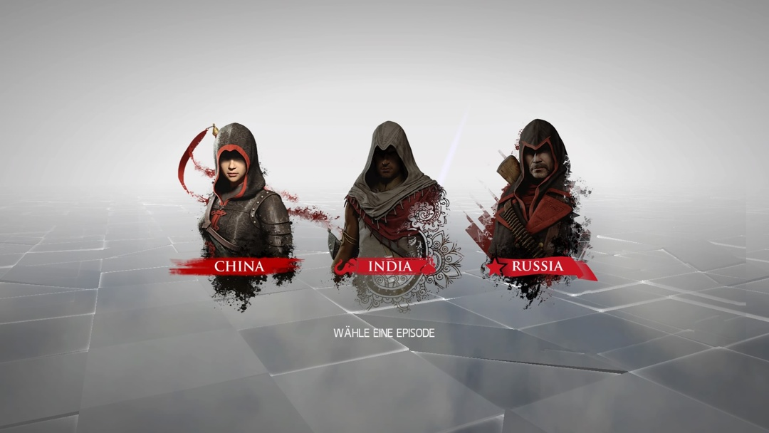 Assassin's Creed Chronicles - Bild 1 - 3 Episoden