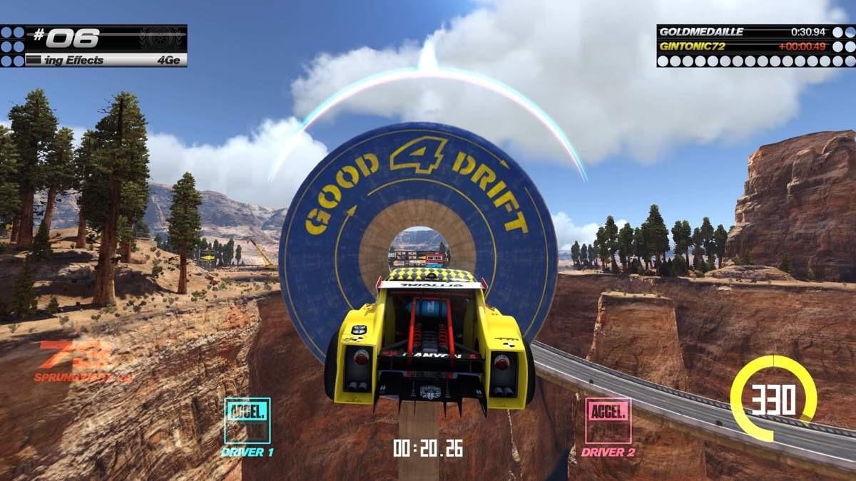 Bild 2 - Im Double Driver Modus müssen die Player miteinander harmonieren