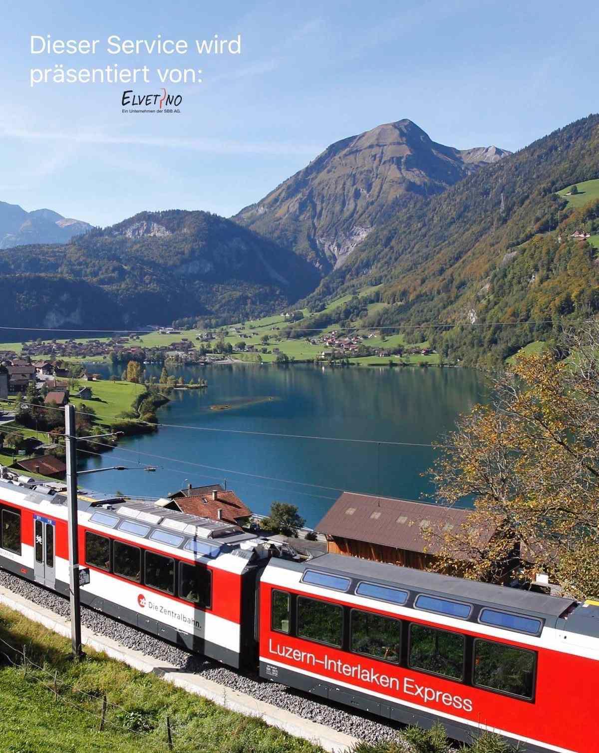 Bistro Order – Die Zentralbahn und Elvetino testen neue Gastro Service App