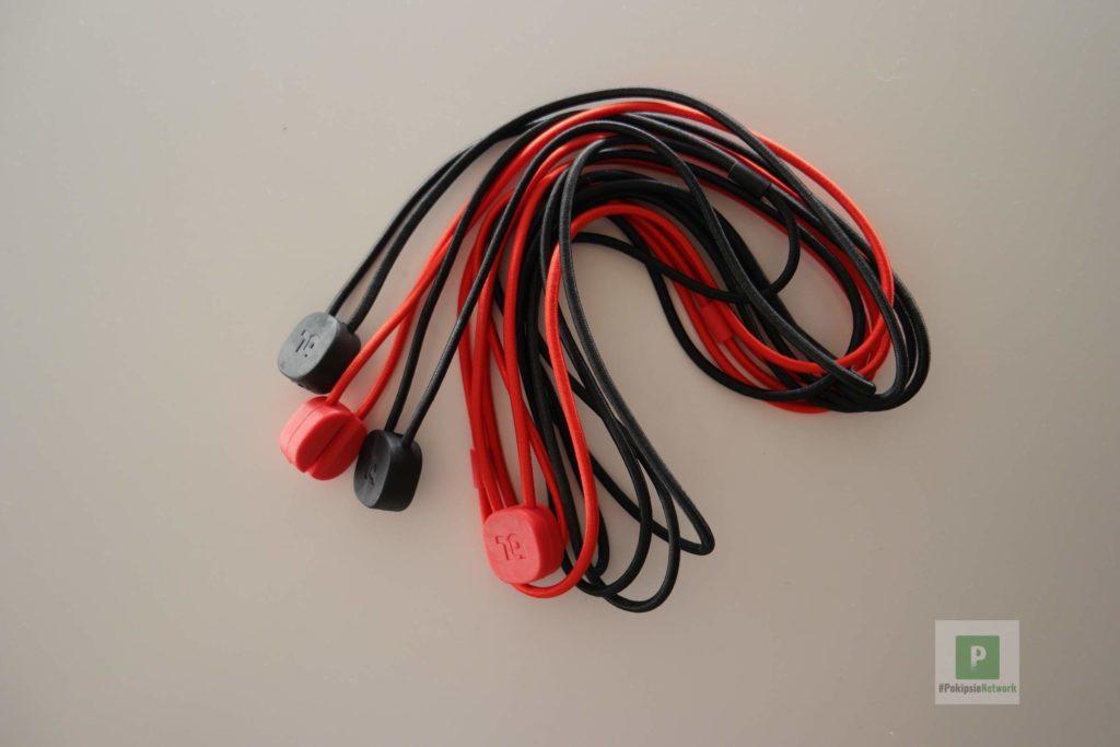 Die vier Kabel einmal ausgepackt