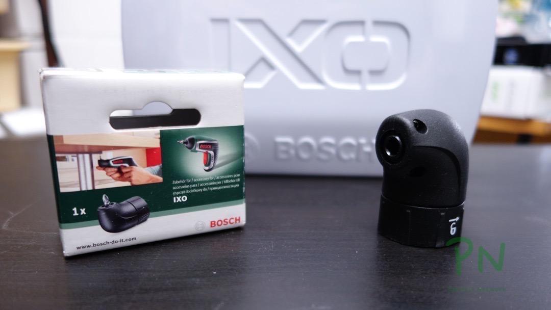 Bosch IXO 5 Zubehör «Spice» «Vino» und «Winkelaufsatz» 3
