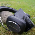 Unterwegs mit den Kopfhörern