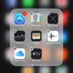 Ein Novum - Apple Apps mit dem X zum Löschen
