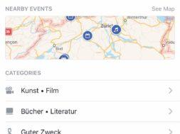 Events from Facebook – Eine eigene App für die ganzen Termine