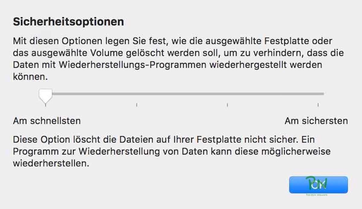 Festplattendienstprogramm 2 - Partitionieren und löschen