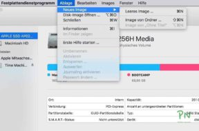 Festplattendienstprogramm 3 – Verschlüsselte Images