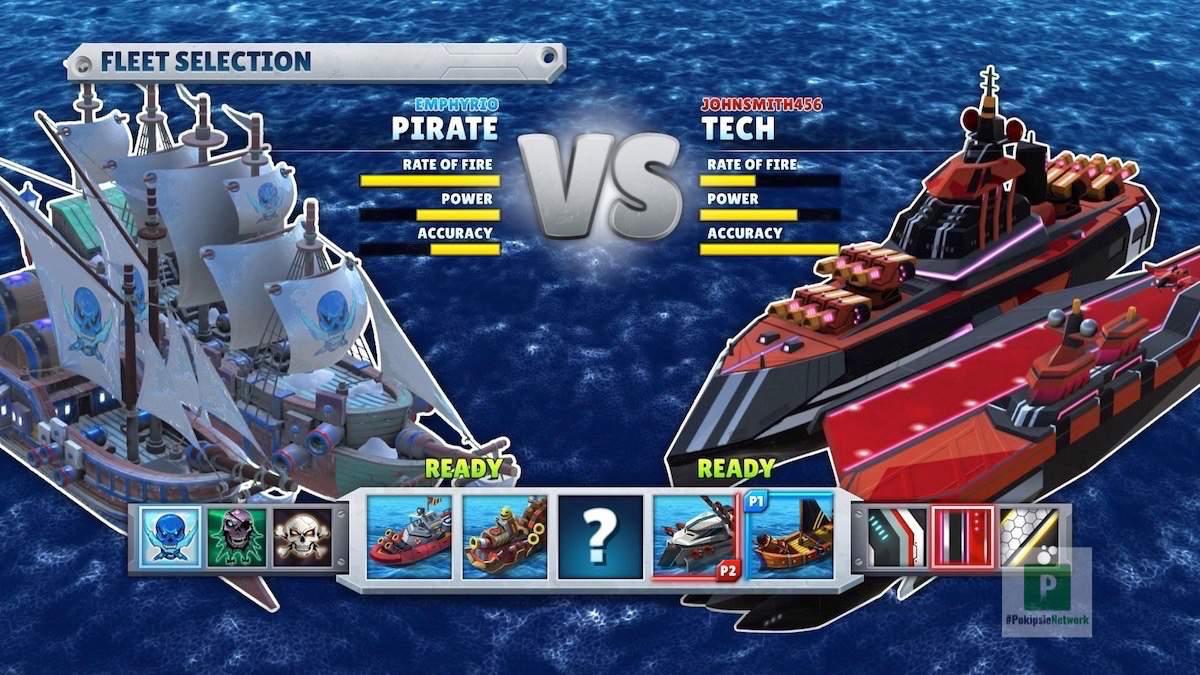 Auswahl der Kriegsschiffe