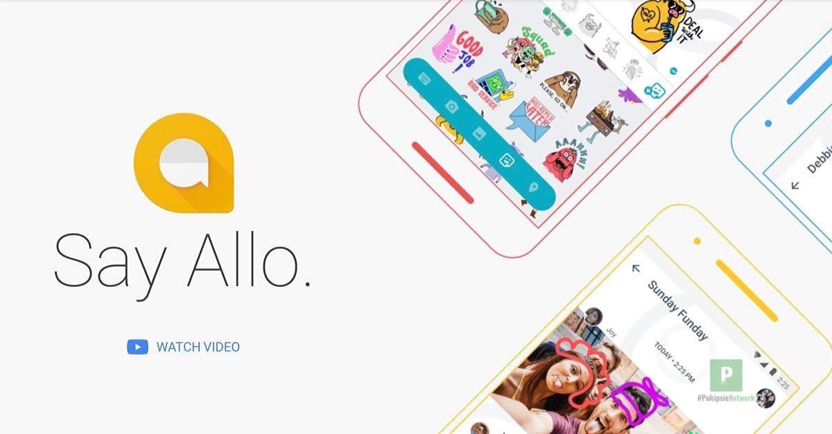 Header Google Allo im Test