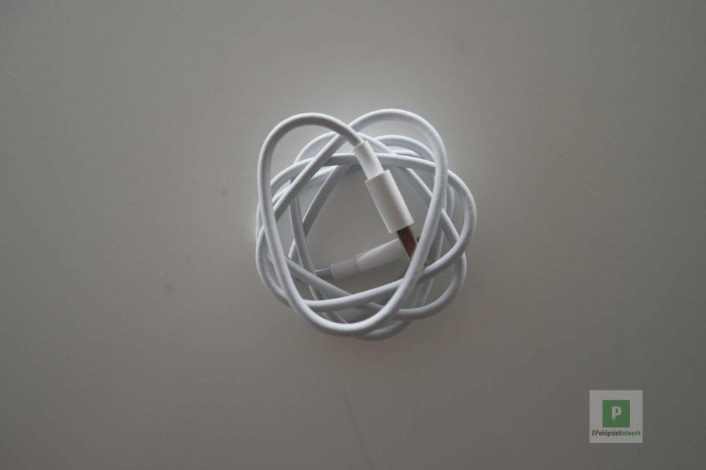 Das USB auf USB-C-Kabel