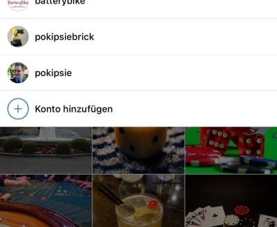 Instagram unterstützt nun endlich mehrer Accounts