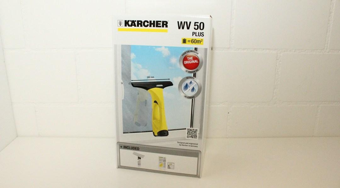 Kärcher WV 50 Plus Testbericht vom Akku-Fenstersauger