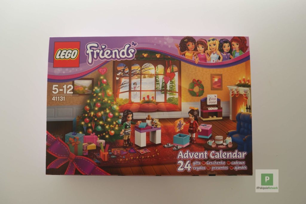 LEGO Friends Kalender vorne