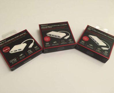MacAlly USB-C Zubehör – USB-Hub mit HDMI-Ethernet – Header