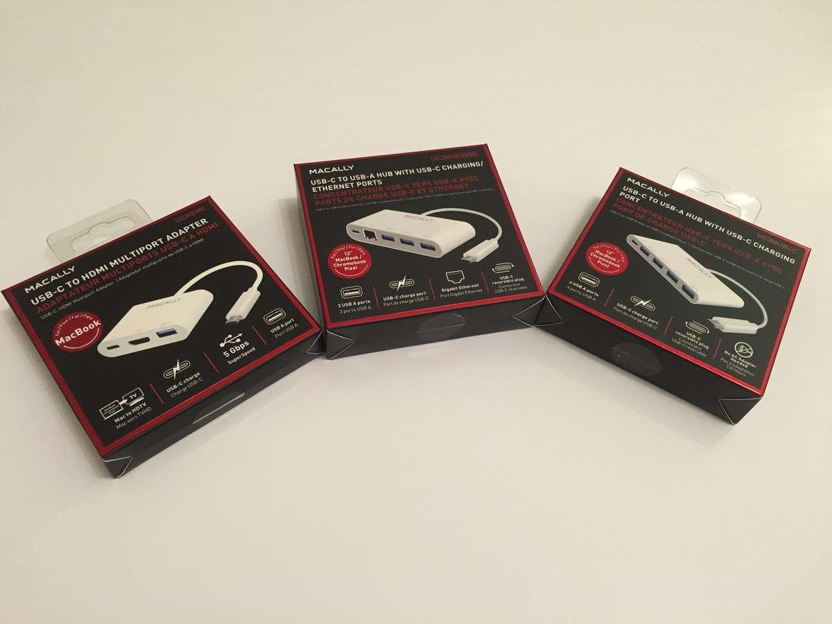 MacAlly USB-C Zubehör – USB-Hub mit HDMI/Ethernet