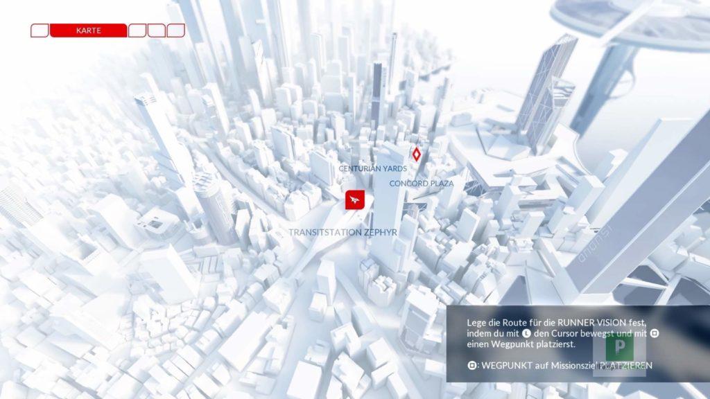 Schön gestaltete Map