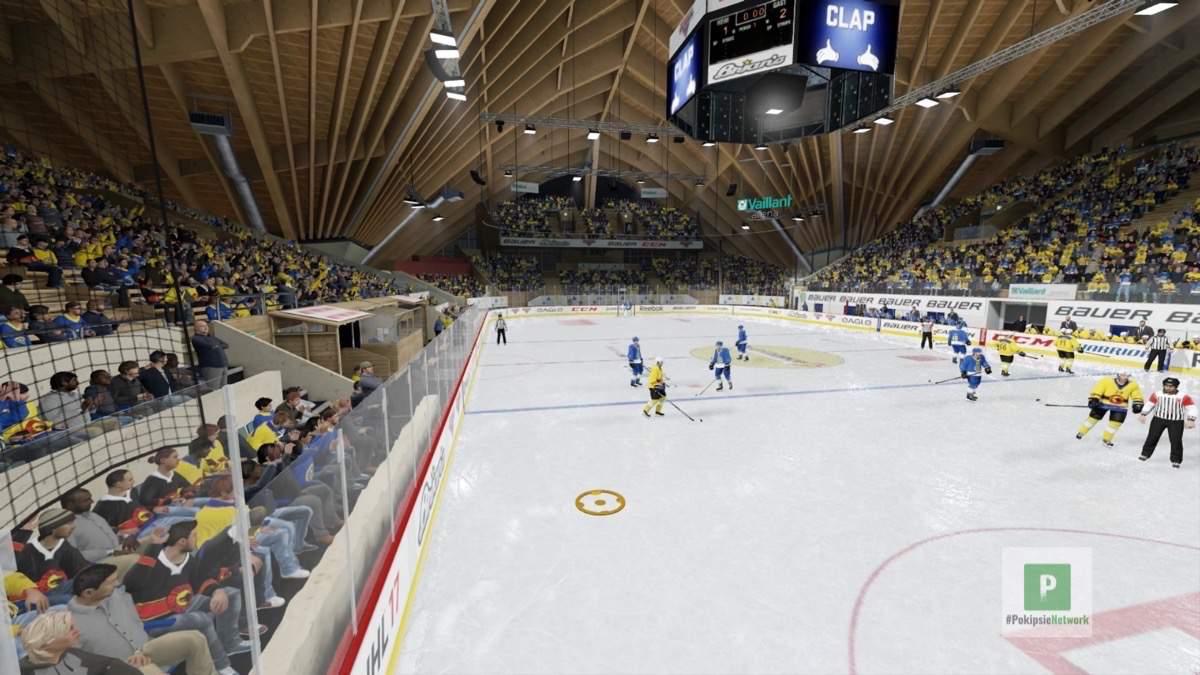 Die Vaillant Arena zu Davos