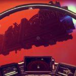 Riesige Raumschiffe sind unterwegs