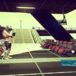 Eine Art Weltraumbahnhof