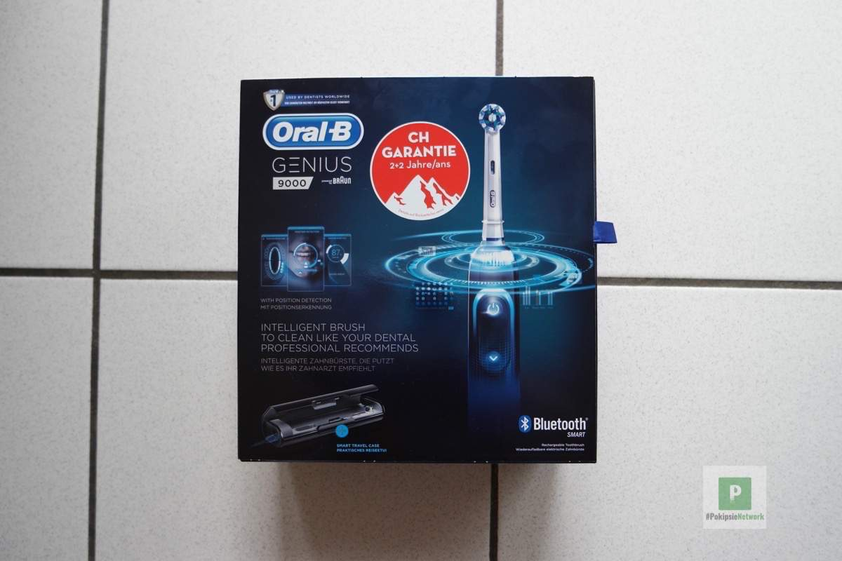 Oral-B Genius 9000 – Black CH-Edition