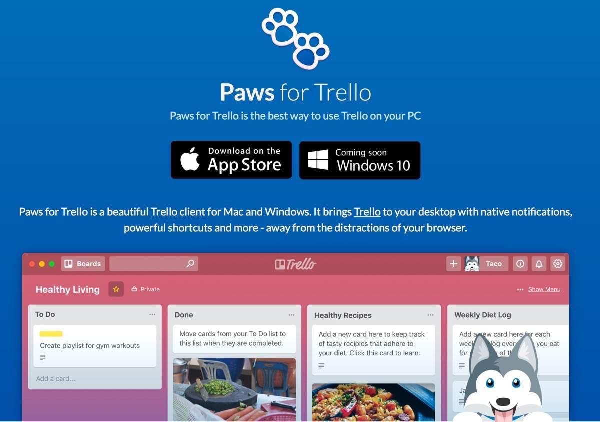 Paws für Trello Testbericht