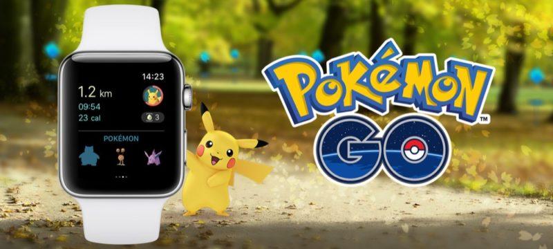 Pokemon Go Apple Watch Header
