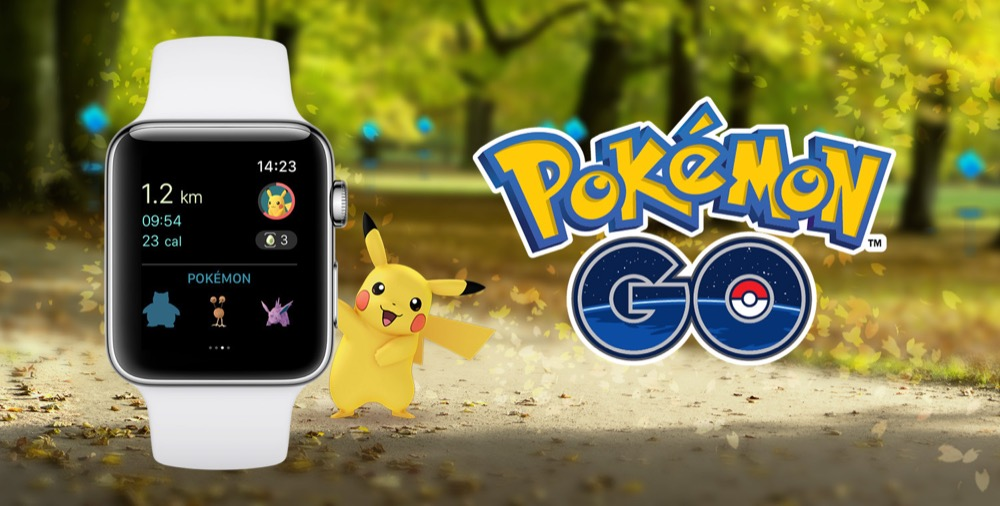 Pokemon Go auf der Apple Watch