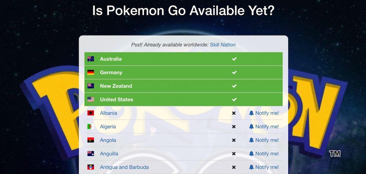 Lasst euch verständigen sobald Pokemon Go verfügbar ist