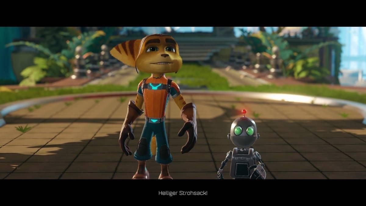 Ratchet & Clank - Bild 1 - Ratchet der Lombax und sein kleiner Freund Clank