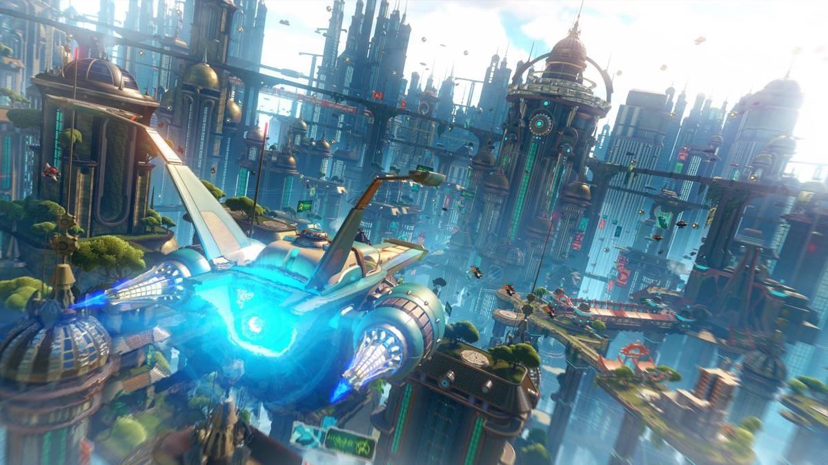 Ratchet & Clank - Bild 10 - Mit dem Raumschiff durch die Metropole