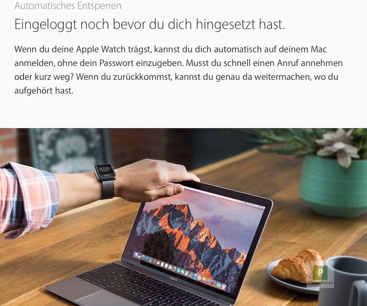 Tutorial – Automatisches Entsperren mit der Apple Watch