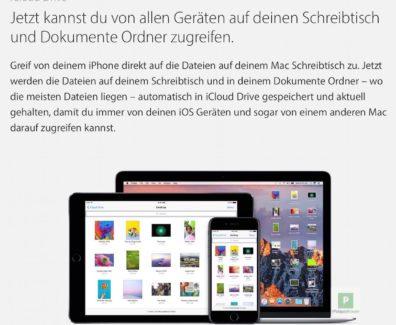 Tutorial – Desktop und Dokumente mit iCloud synchronisieren