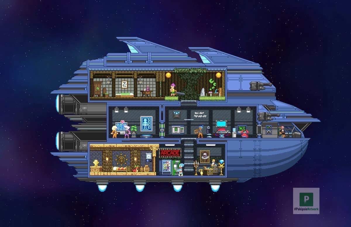 Crafting für das eigene Raumschiff