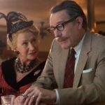 Trumbo - Szenen - 02 Hedda Hopper (Mirren), Dalton Trumbo (Cranston)