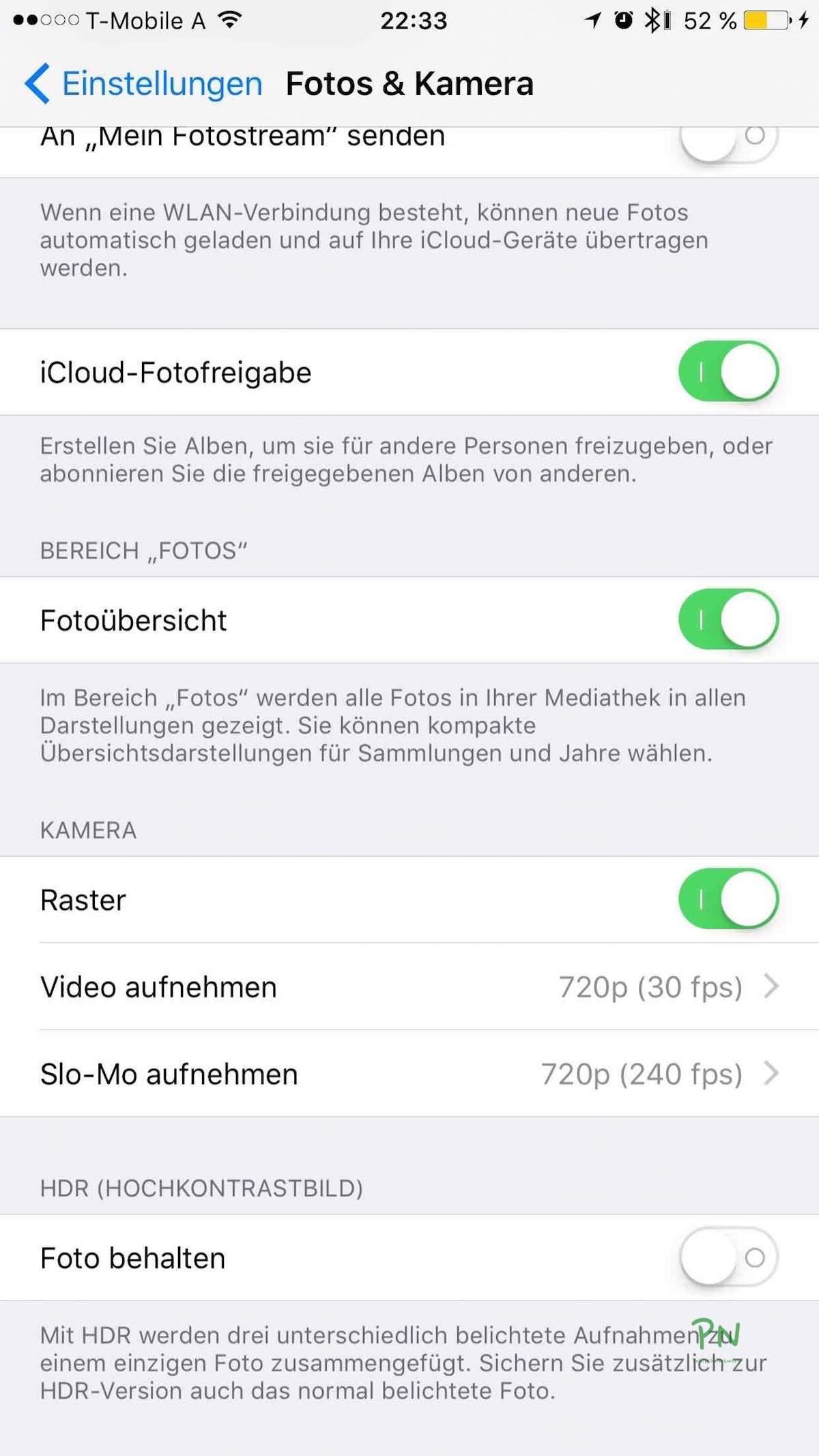 Tutorial – 4K Videos mit dem iPhone aufzeichnen