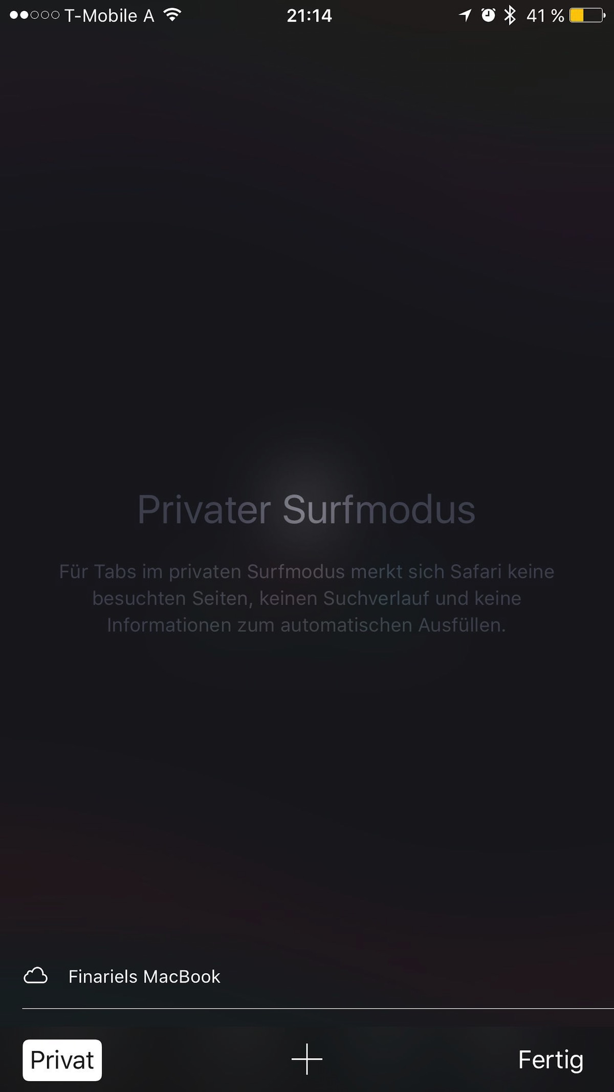 Tutorial iPhone Privat Surfen