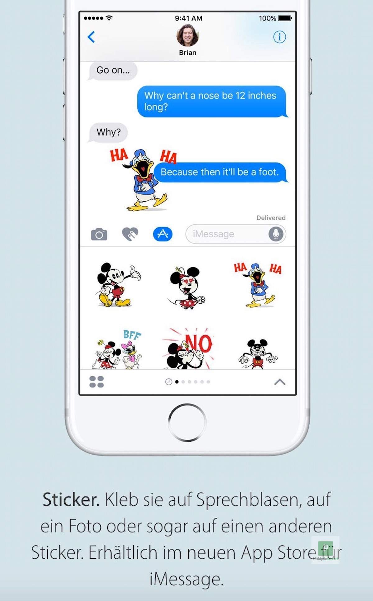 Tutorial – iMessage Stickerpacks installieren